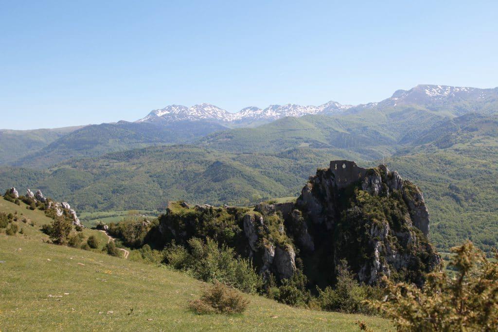 Roquefixade château.