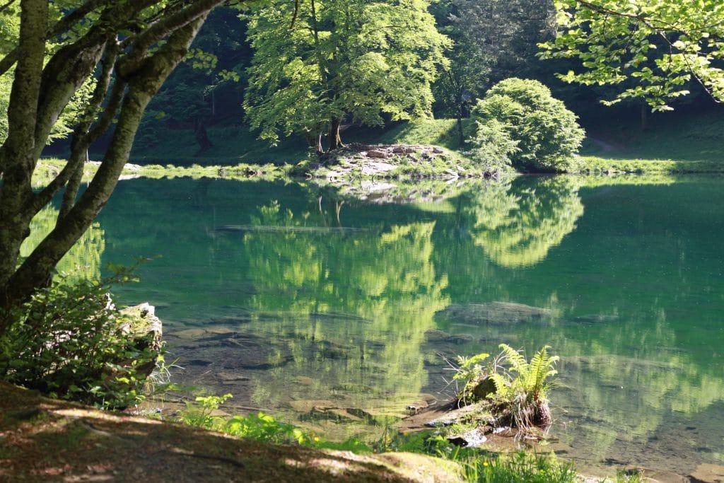 Le lac de Bethmale.
