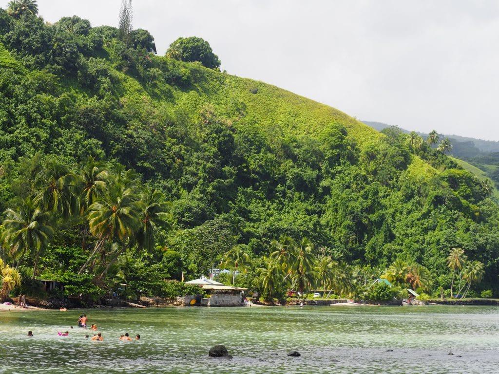 Tahiti sable noir