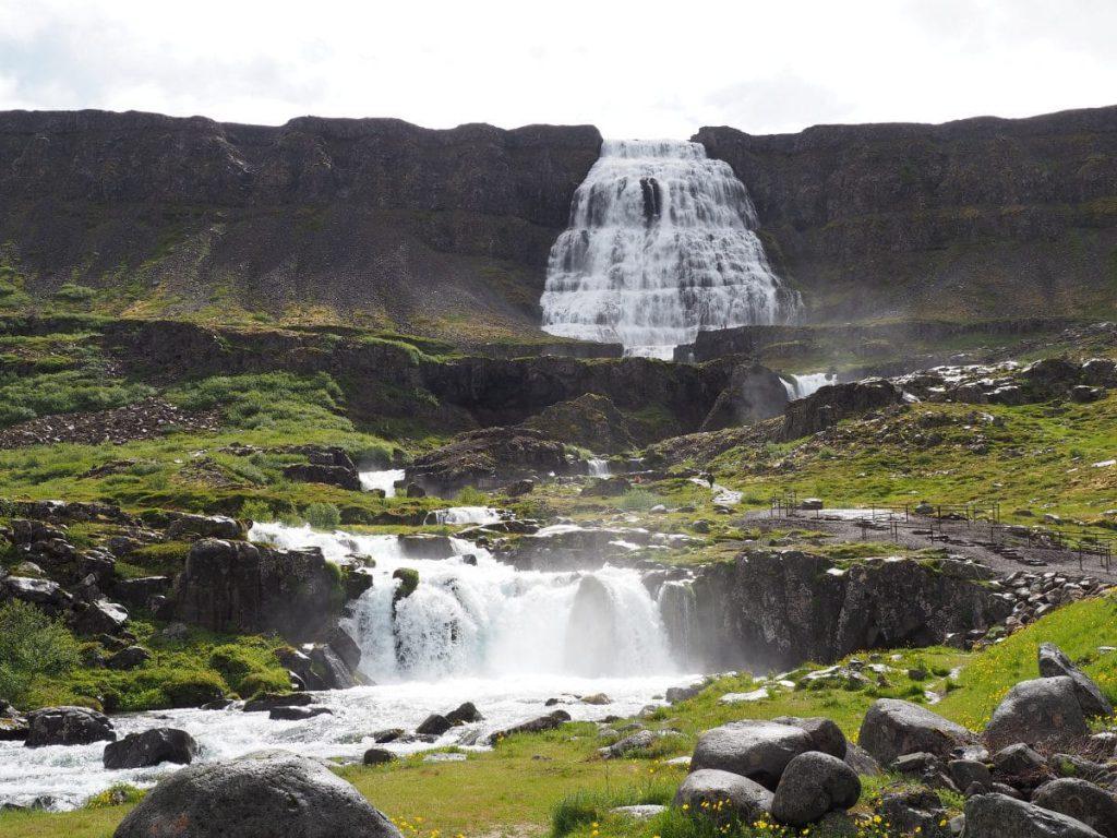 La cascade de Dynjandi