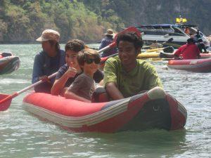 voyage thailande famille