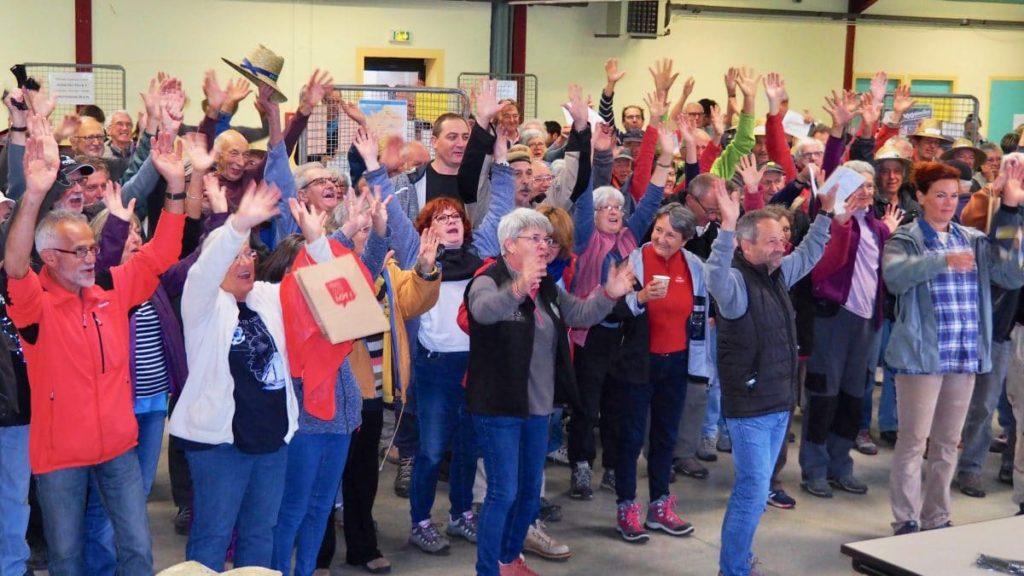 300 bénévoles rassemblés pour un chantier.