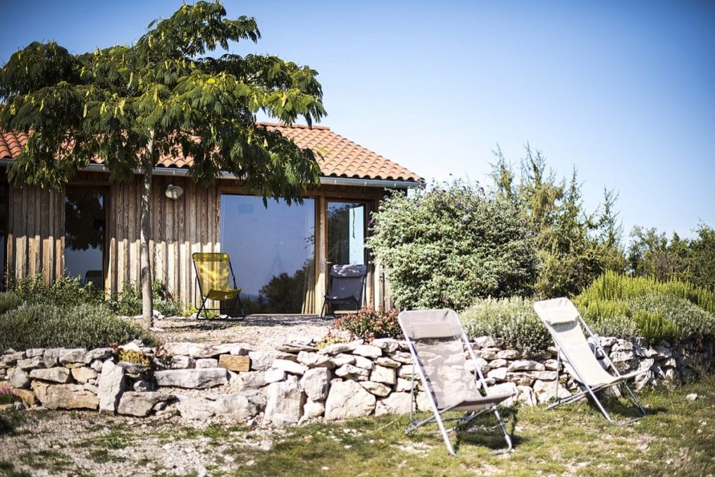 L'Écoasis, une ravissante maison eco-construite.